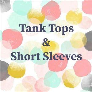 Tank Tops & Short Sleeve Tops Selection!